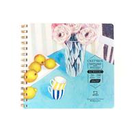 Sketchbook  pentru acrilic Malevich Matisso, 290 g / m, 20 foi, 20x19 cm