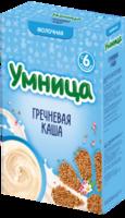 Умница каша гречневая молочная, 4+мес. 200г