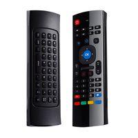 купить MX-3 AIR MOUSE 4 в 1: обучаемый ИК пульт ДУ, беспроводная клавиатура, аэромышь, беспроводной микрофон в Кишинёве