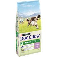 DOG CHOW Adult 14kg для взрослых собак, с ягненком