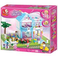Sluban Girls Dream Constructor Family House