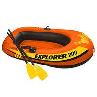 Набор надувная лодка + весла INTEX 58331NP