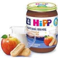 Молочная каша Hipp Good Night злаки с печеньем и яблоком (4+ мес.), 190 г