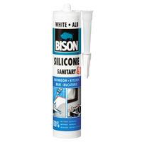 Bison Cиликон санитарный Белый 280мл