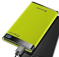 Cellularline Power Bank, 6000mAh, slim, Green