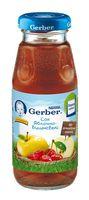 Gerber сок яблочно-вишнёвый 175мл.(6+)
