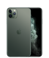 iPhone 11 Pro Max,  64Gb 	Midnight Green MD
