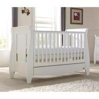 Деревянная кроватка 3 в 1 Tutti Bambini Lucas White
