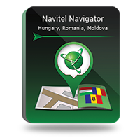 NAVITEL Pachet Hărţi Hungary-Romania-Moldova, черный