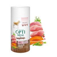 Optimeal для собак беззерновой корм для взрослых собак всех пород - УТКА и овощи 650g