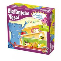 Настольная игра Elefantul vesel - aventuri culinare, код 41196