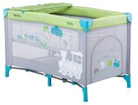 Chipolino Кровать-манеж Sienna SIS0152GR серо-зелёный