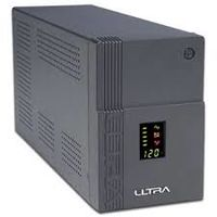 UPS  Ultra Power 1200VA (3 steps of AVR, CPU controlled, USB) metal case, LCD display 3 Germany Sockets + USB