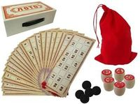 """Игра настольная """"Лото"""" в картонной коробке 23X13X7.5cm"""