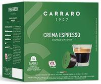 Capsule pentru aparatele de cafea Carraro Crema Espresso Compatible Dolce Gusto 16caps