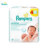 Влажные салфетки Pampers Sensitive 56x4 блок
