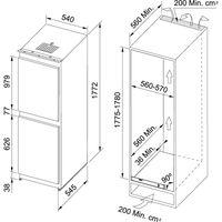 Встраиваемый холодильник Franke FCB 320 NR ENF V