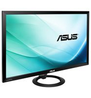 """27.0"""" ASUS """"VX278H"""", Black (TN, 1920x1080, 1ms, 300cd, LED80M:1, HDMIx2+D-Sub, 2x1.5W) (27.0"""" TN : W-LED, 1920x1080 Full-HD, 0.311mm, 1ms (GTG), 300 cd/m², DCR 80mln:1, 16.7M, 178°/178° @C/R>10, 30~80 KHz(H)/ 56~75Hz(V), D-sub + HDMIx2, Stereo Audio-In, HDMI Audio-In, Headphone-Out, Built-in speakers 2x1.5W, External Power Adapter, Fixed Stand (Tilt -5/+20°), Black, Ultra-slim)"""