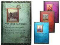 """Блокнот 13X19cm """"Картины Ван Гога"""", 128листов, твердая облож"""