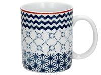 Чашка с орнаментом Quadretti 350ml