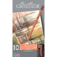 Set de bază, 10 articole, Artino Cretacolor