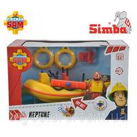 Simba Пожарный Сэм лодка спасателей с аксессуарами