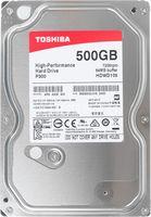 "3.5"" HDD 500GB  Toshiba HDWD105UZSVA  P300, for Desktop, 7200rpm, 64MB, SATAIII"