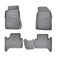 "> Chevrolet Trail Blazer (GM 800>) (2012>) (5 мест>) Коврики в салон полиуретановые ""UNIDEC"""