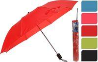 Зонт складной одноцветный D93cm, 5цветов