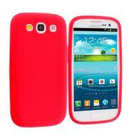 Husa de protectie silicon GO COOL pentru Galaxy S3, Red