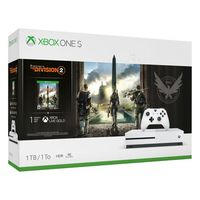 Microsoft Xbox One S 1TB White  1 x Gamepad (Xbox One Controller) + Shadow of Tomb Raider