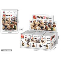 КОНСТРУКТОР Коллекционные Солдаты Серии: Вторая Мировая Война 12 видов