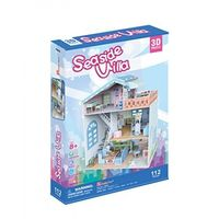 3D PUZZLE Dollhouse -  Seaside Villa