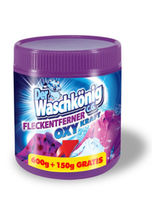 Пятновыводитель сыпучий Der Waschkonig OXY для цветных и белых вещей 750 гр