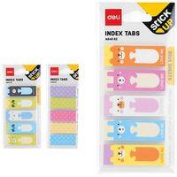 DELI Закладки клейкие DELI StickUp 15x45мм/5x30 л., бумажные