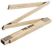 купить Метр складной деревянный 2м TOLSEN в Кишинёве
