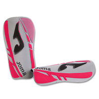 SHINGUARDS WHITE-FUCHSIA