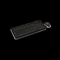 Беспроводная клавиатура + мышь Canyon SET-W3, Black