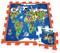 Stamp Игровой коврик карта мира