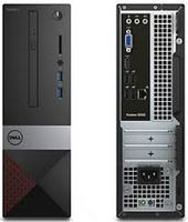 DELL Vostro 3250 SFF Intel® Core® i7-6700 (Quad Core, up to 4.0GHz, 8MB), 4GB DDR3 RAM, 1TB HDD, DVDRW, Intel® HD 530 Graphics, Wi-Fi/BT4.0, PSU, MS116 USB Mouse, USB KB216 Keyboard, Win 10 Home EN, Black