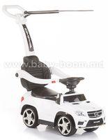 Chipolino Машина c ручкой MERCEDES AMG  ROCAMGC181WH белый