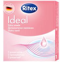 Презервативы - RITEX IDEAL - С дополнительной смазкой, тонкие, 3шт.