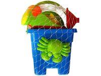 купить Набор игрушек и сито для песка в ведерке мини 7ед, 12.5X12cm в Кишинёве