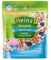 Heinz  Кашка молочная гречневая с черносливом и Омега 3 (с 4 м+) 200 гр.