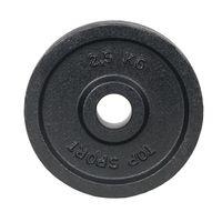 Диск металлический 2.5 кг, d=30 мм inSPORTline Top Sport Castry 22348 (4294)