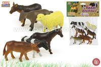 """Color Baby 24357 Набор-Животные Фермы """"Kidz Corner"""" 6шт"""