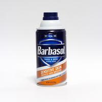 Пенящийся крем для бритья Barbasol Sensitive Skin 283gr.