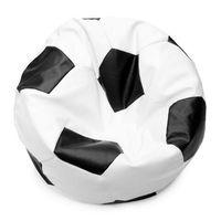 Bean bag Football BIG White&Black Кресло мешок Футбольный Мяч