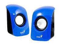 Колонки 2.0 Geniius SP-U115, 1.5 Вт, Blue