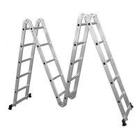 Лестница алюминиевая Sarayli Akrobat 4*6